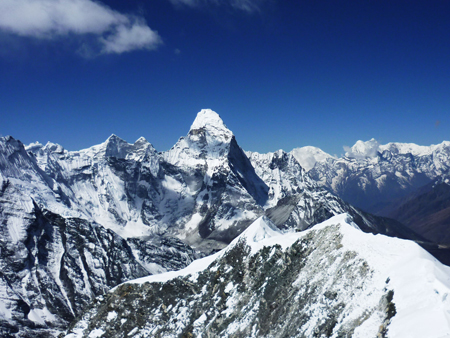 Island Peak Climbing with Everest Base Camp