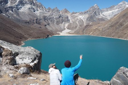 EBC Trek via Gokyo Lakes and Cho La Pass
